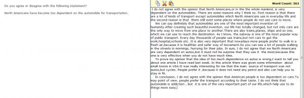 Please correct my toefl essay?